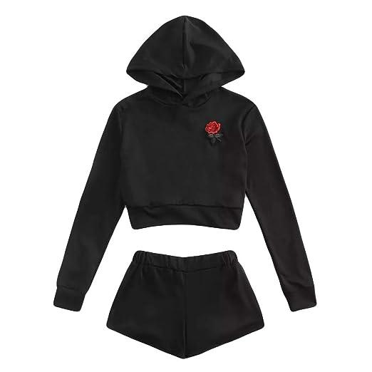 bc6d7944df76e2 BETTERUU 2Pcs Women Tracksuit Sweatshirt Pant Sets Sport Long Sleeve Wear  Casual Suit at Amazon Women s Clothing store