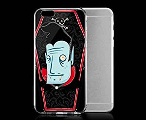 Light weight with strong PC plastic case for iPhone 5 5s Art Illustration Art Halloween Vampire