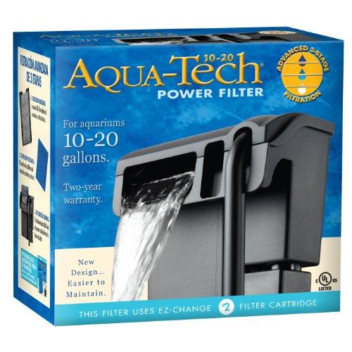 AquaTech Power Aquarium Filter, 10 to 20-Gallon Aquariums