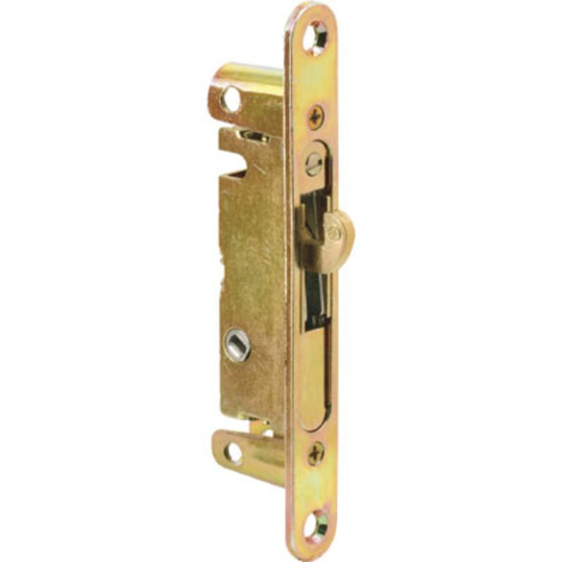 3 4 Wide Mortise Lock 5 3 8 With Screw Holes With 45 Degree Keyway
