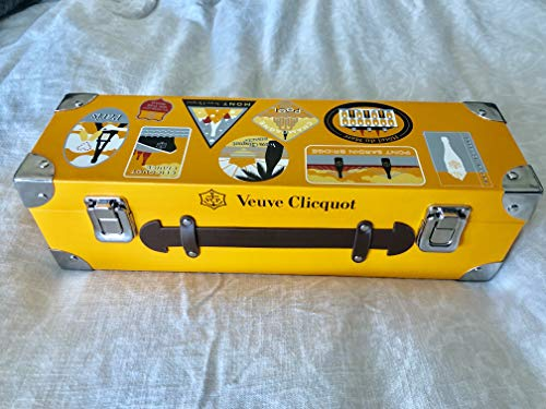 (Verve Cliquot Yellow Label Acrylic Wine Glass Gift Box Set - 2019 Limited Edition)
