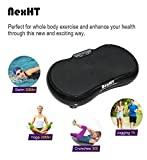 NexHT-Fitness-Vibration-PlatformWhole-Full-Body-Shape-Exercise-MachineVibration-Plate-Fit-Massage-Workout-Trainer-with-Two-Bands-RemoteMax-User-Weight-330lbs