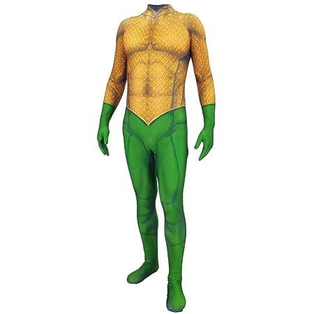 YQFZ Aquaman Cosplay Ropa DC Hero Disfraz Disfraz Mono Monos ...