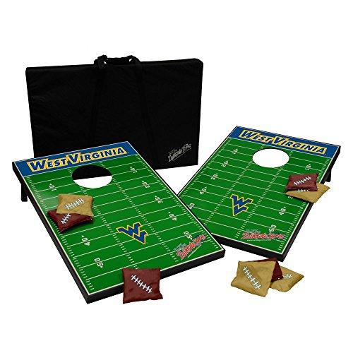 Wild Sports NCAA Tailgate Toss Cornhole Set-West Virginia - University Shopping West
