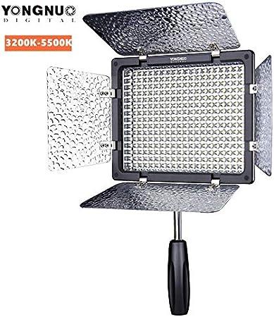 إضاءة فوتوغرافية - Yongnuo YN300 III YN-300 III 3200k-5500K CRI95+ Pro YN300III LED أضواء فيديو تدعم محول التيار المتردد والتحكم عن بعد