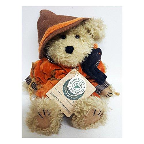 - Boyds Bears and Friends Einstein Q. Scaredybear Scarecrow 10