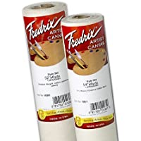 Fredrix Unprimed 548 Cotton Roll: 6 yds. x 72, 12 oz.