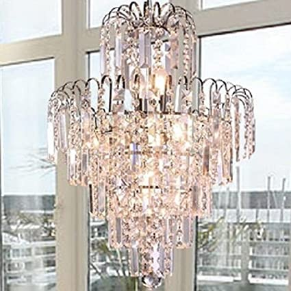 Lightinthebox European Style Luxury 6 Lights Chandelier In Crown Shape Crystal Home Ceiling Light