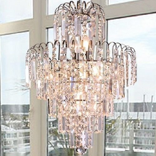 - Lightinthebox European-Style Luxury 6 Lights Chandelier in Crown Shape, Crystal Home Ceiling Light Fixture, Pendant Light Chandeliers Lighting for Dining Room, Bedroom, Living Room