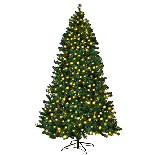 Artificial Christmas Tree With Led Lights in US - 9