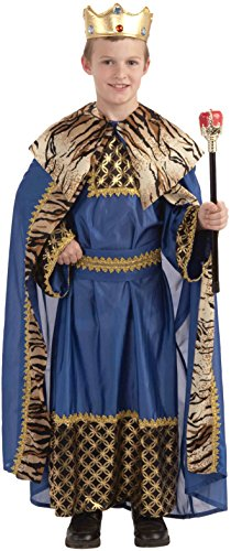 Kings Costume For Kids (Forum Novelties Biblical Times King of The Kingdom Costume, Child)