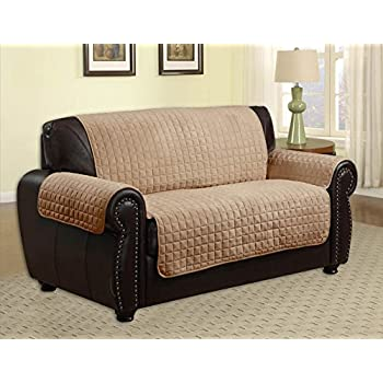 Amazon.com: Quilted Microfiber Pet Dog Couch Sofa Furniture ... : quilted furniture protectors - Adamdwight.com