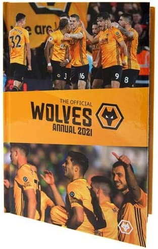 Wolverhampton Wanderers FC Annual 2021 Official Merchandise