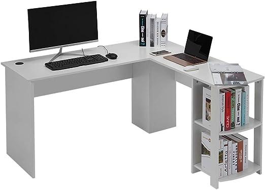 Escritorio de la Computadora en forma de L, Estación de Trabajo de ...