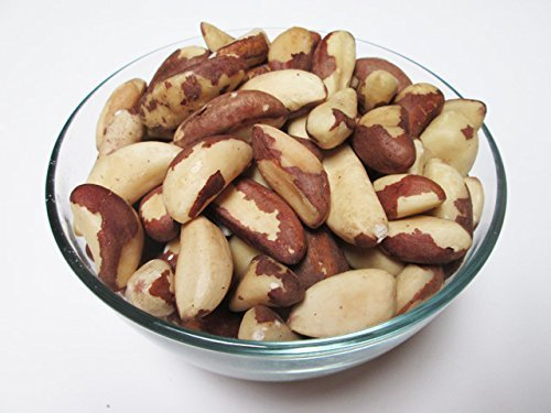 Raw Brazil Nuts-Whole, Shelled, Unsalted, Naturally, 5 lb