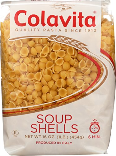 - Colavita Pasta, Soup Shells, 16 Ounce (Pack of 20)