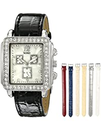 Women's XO9025 Seven-Color Interchangeable Strap Set Watch