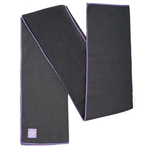 Luxury Sweat Grip Mat Towel: Joyne Tola™ Non Slip Yoga Towel ★ #1 Best Hot Yoga