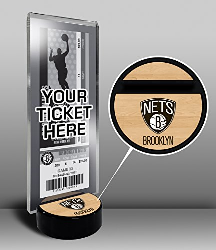 NBA New Jersey Nets Ticket Display Stand, One Size, Multicolored by That's My Ticket