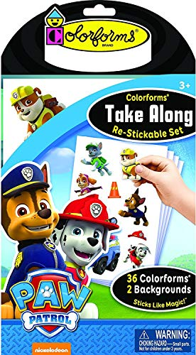 Colorforms Take Along Paw Patrol