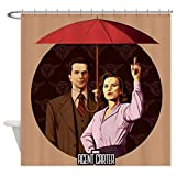 CafePress - Agent Carter Umbrella - Decorative Fabric Shower Curtain