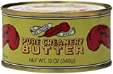 Red Feather PURE CANNED BUTTER - 6 cans of 12oz each - great for survival earthquake kit