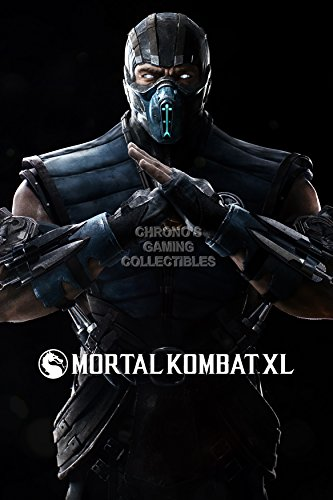 CGC Huge Poster - Mortal Kombat XL X Sub-Zero PS4 PS3 XBOX ONE 360 - EXT272 (24