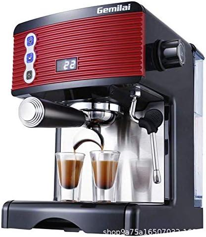 Qinmo Machine à café glacé, entièrement Automatique Grind et Brew Machine à café avec du Lait Frother, température contrôlée, système Anti-Sec Protection, Ménage