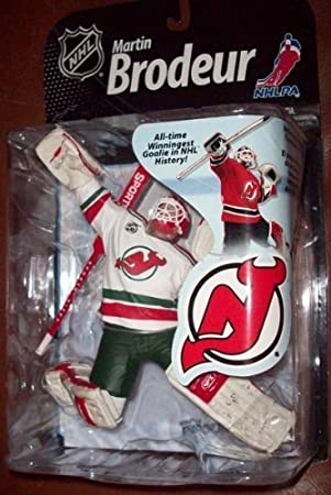 69c783bd7 McFarlane Toys NHL Sports Picks Series 22 2009 Wave 2 Action Figure Martin  Brodeur (New Jersey Devils) Retro White...  Amazon.co.uk  Welcome