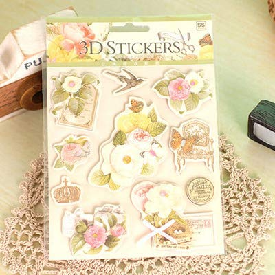 Gift Wrapping Paper - New Design Greeting DIY Paper Craft Sticker for Handmade Card Making Gift Wrapping Embellishment Photo Album Home Decoration -