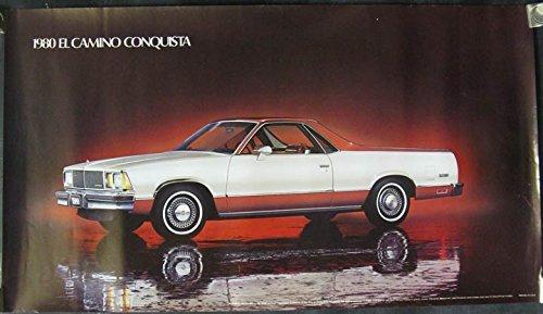 1980 Chevrolet El Camino Conquista Showroom Poster