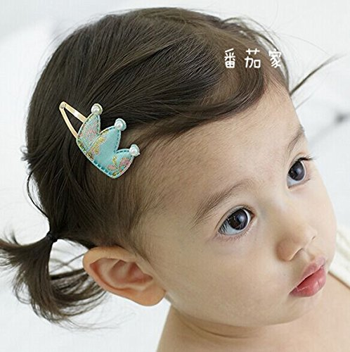 Price comparison product image Quantity 1x children 's_ Hair clip hairpin barrette Korean personality_China_wind_ Korean classical_stamp_ small Crown Tiara Party Wedding Headband Women Bridal Princess Birthday Girl Gift _metal_ cli