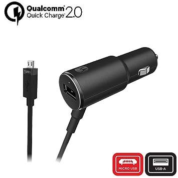 motorola TurboPower 25 - Cargador de Coche Micro-USB con Puerto USB-A Extra (para G3/G4/G5/G5S): Amazon.es: Electrónica