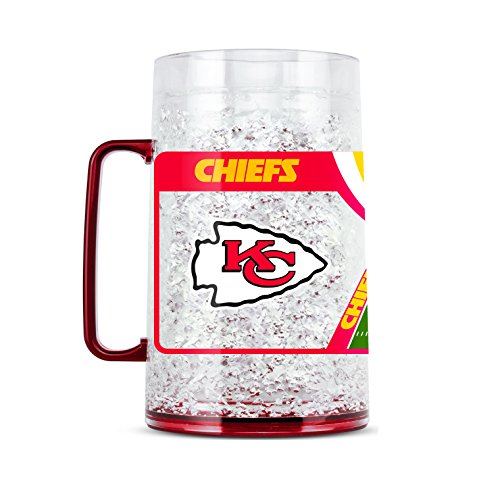 NFL Kansas City Chiefs 38oz Crystal Freezer Monster Mug