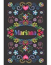 REGALO PERSONALIZADO PARA MARIANA: Hermoso Diario Forrado Con El Nombre De Mariana
