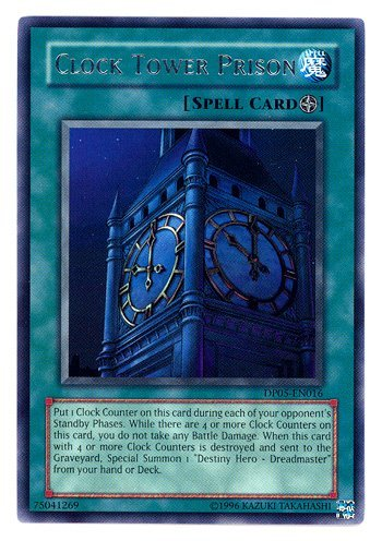 Yu-Gi-Oh! - Clock Tower Prison (DP05-EN016) - Duelist Pack 5 Aster Phoenix - 1st Edition - Rare ()