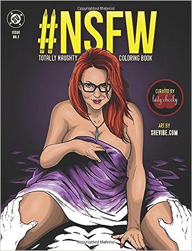 NSFW Totally Naughty Coloring Book: Amazon.de: Thor R Mikelic, Alex ...