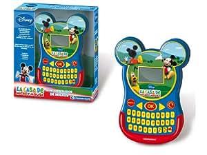 Clementoni- Mini-Ordenador Mickey Mouse