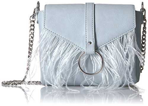 Feather Bag (The Fix Courtney O Ring Feather Cross-Body Bag)