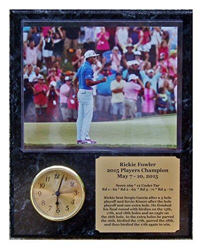 Rickie Fowler Players Championship 8x10 Photo Clock Plaque Final Putt ()