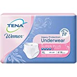 TENA Incontinence Underwear for Women, Protective, X-Large, 14 Count