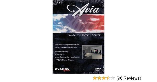 amazon com avia guide to home theater movies tv rh amazon com avia guide to home theater calibration dvd Avia Logo
