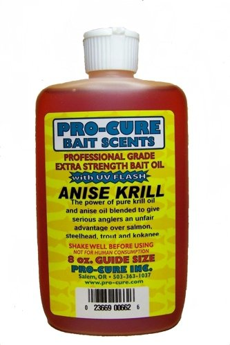 Scent Killer Trigger - Pro-Cure Anise Krill Bait Oil, 8 Ounce