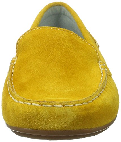 Sioux 60264, Mocasines Mujer Amarillo (Wheat)
