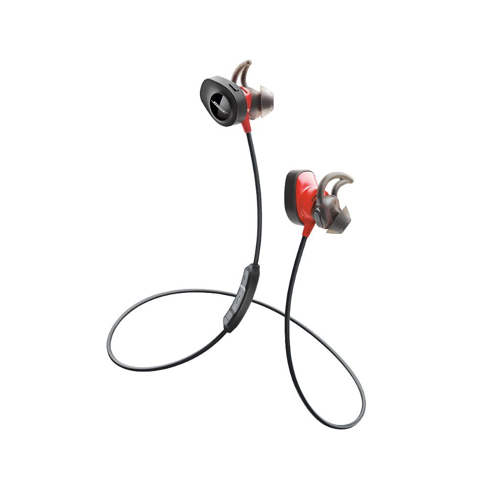 Bose SoundSport Pulse Wireless Headphones, Power Red (With Heartrate Monitor) by Bose