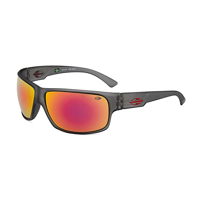 MORMAII Gafas de sol Joaca II gris mate con lentes espejada rojas  Amazon.es   Ropa y accesorios 79c74660d0