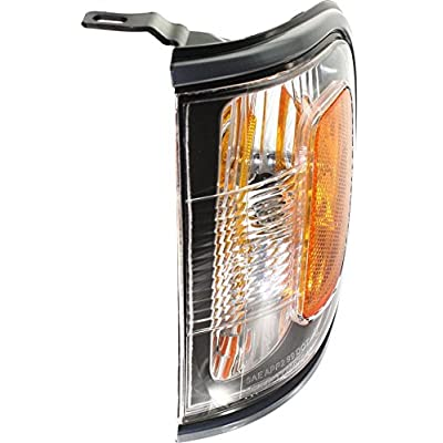 DAT AUTO PARTS Parking Side Marker Light Assembly Replacement for 01-04 Toyota Tacoma with Gray Bezel Left Driver Side TO2520160: Automotive