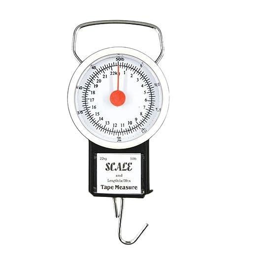 Báscula de cocina portátil de 22 kg para colgar, balanza de ...