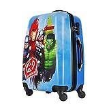 GAMME Polycarbonate 20' Light Blue- Marvel Avengers Hard Sided Children's Luggage