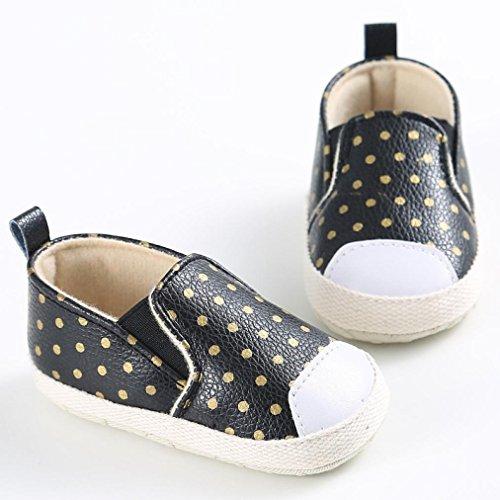 Tefamore zapatos bebes de los primeros pasos de la antideslizante de seda suave de la moda invierno de calentar Rosa